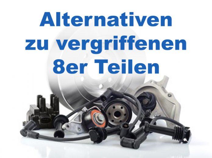 BMW E31 - Vergriffene Teile und mögliche Alternativen