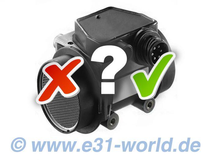 Luftmassenmesser 8er BMW E31, LMM für M70, S70 und M73