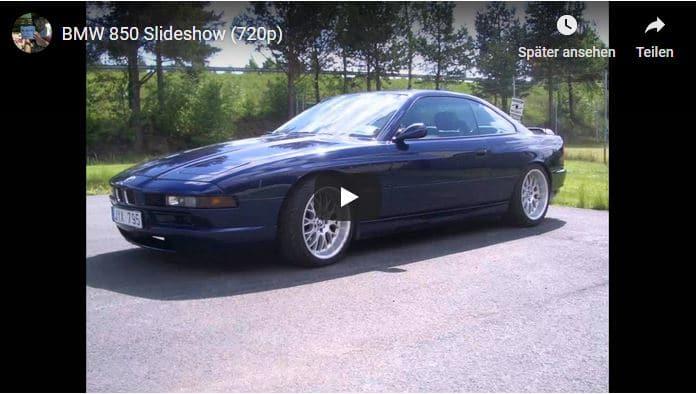 BMW E31 Youtube Startseite